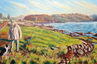 Caroline McCormack is a fine artist specialising in oil paintings of Scottish Highland landscapes, flowers, figures and portraits.